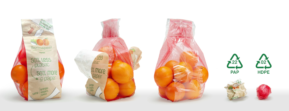 SORMAPEEL, the ultra-lightweight, perfectly recyclable packaging from Sorma Group