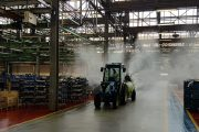 Sanitization for all Argo Tractors plants