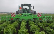Foldable AVR ridger meets demand for mechanical weed control
