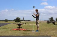 Modern field research trials use GNSS positioning for accurate assessment of plant health and performance