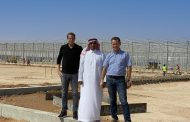 Growing sustainable vegetables in the Saudi Arabian desert under 80 hectares of glass