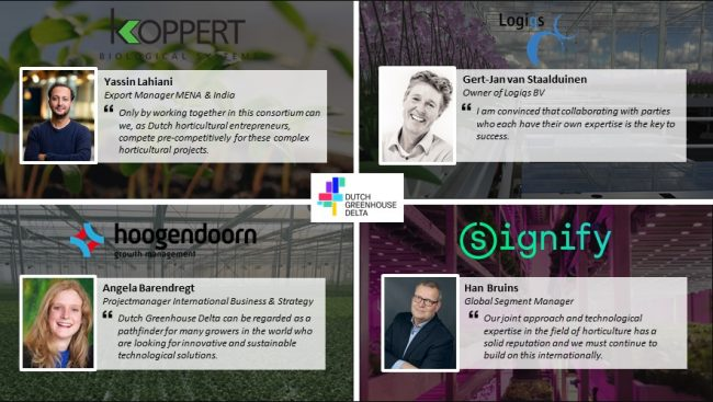 Dutch Greenhouse Delta continues to grow with four new partner companies