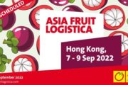 ASIA FRUIT LOGISTICA reschedules to September 2022