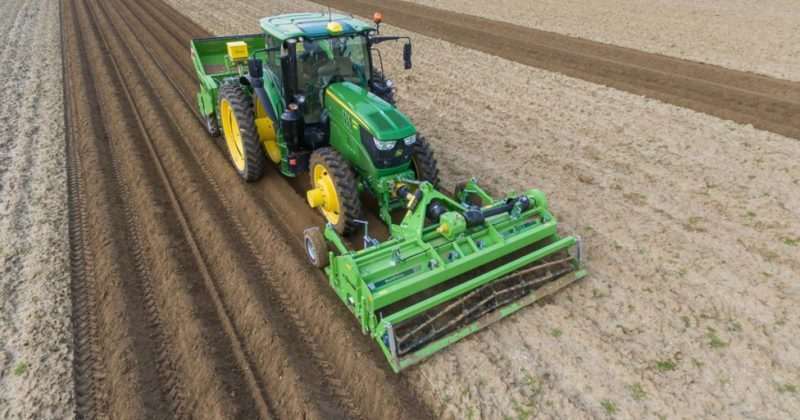 Full speed ahead with the new AVR MultiForce front cultivator