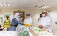 Minister of Climate Change and Environment Reviews Processes at Agricultural Quarantine Facility at Dubai Flower Centre