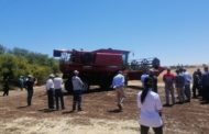 Farmers test out the Axial-Flow in Morocco