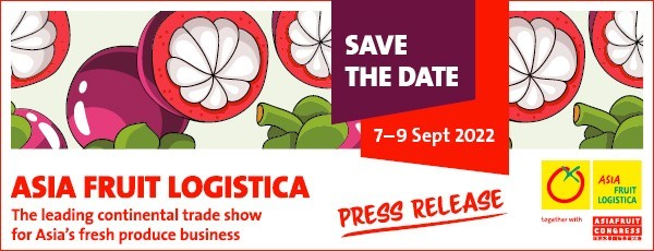 ASIA FRUIT LOGISTICA is all set for a strong return in 2022